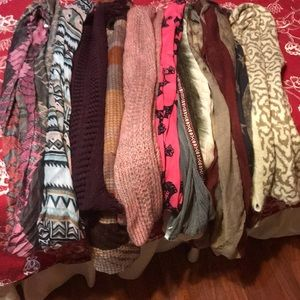 Nwt bundle of infinity scarves